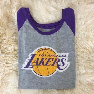 Los Angeles Lakers Sleeveless Tank LeBron James